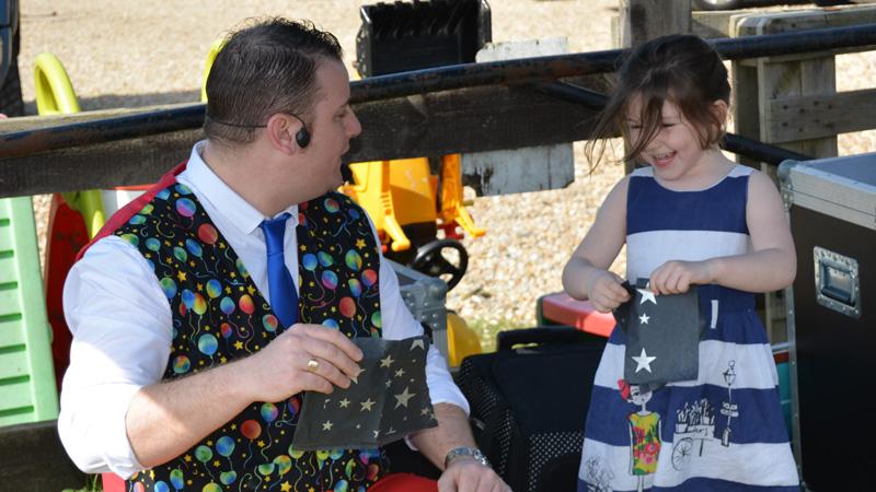 Ross Presto birthday party magic show